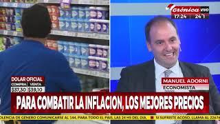 """Manuel Adorni en """"Siempre noticias"""", con M.Federico y N.Vaccarezza por """"Crónica TV"""" 14/12/18"""