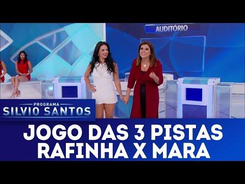 Jogo das 3 Pistas - Rafinha X Mara | Programa Silvio Santos (25/03/18)