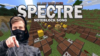 Download lagu AlanWalker - Spectre (Noteblock Song)