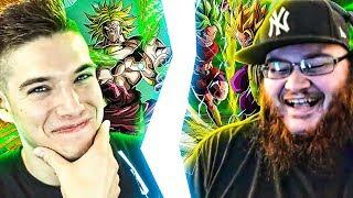 Global's LR Broly VS JP's LR Kale & Caulifla! Nano VS Truth Dokkan Battle Race!