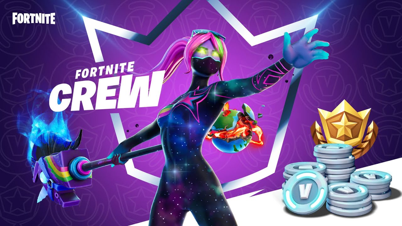 Fortnite Crew subscription service announced: price, exclusive skins ...