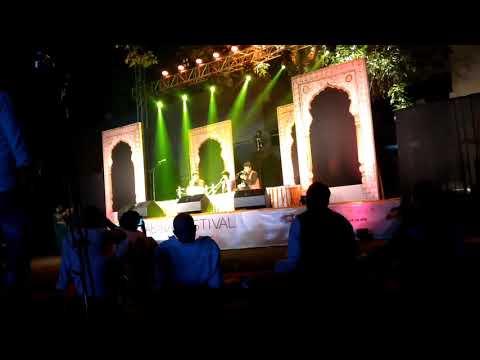 Kabira festival.. Varanasi ... artist Vedant..