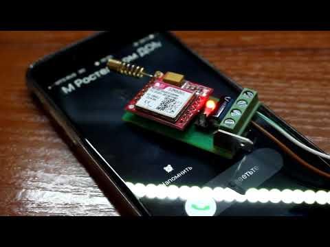 GSM сигнализация своими руками - модуль MS800, оповещатель для сигнализации. SIM800 - модуль купить