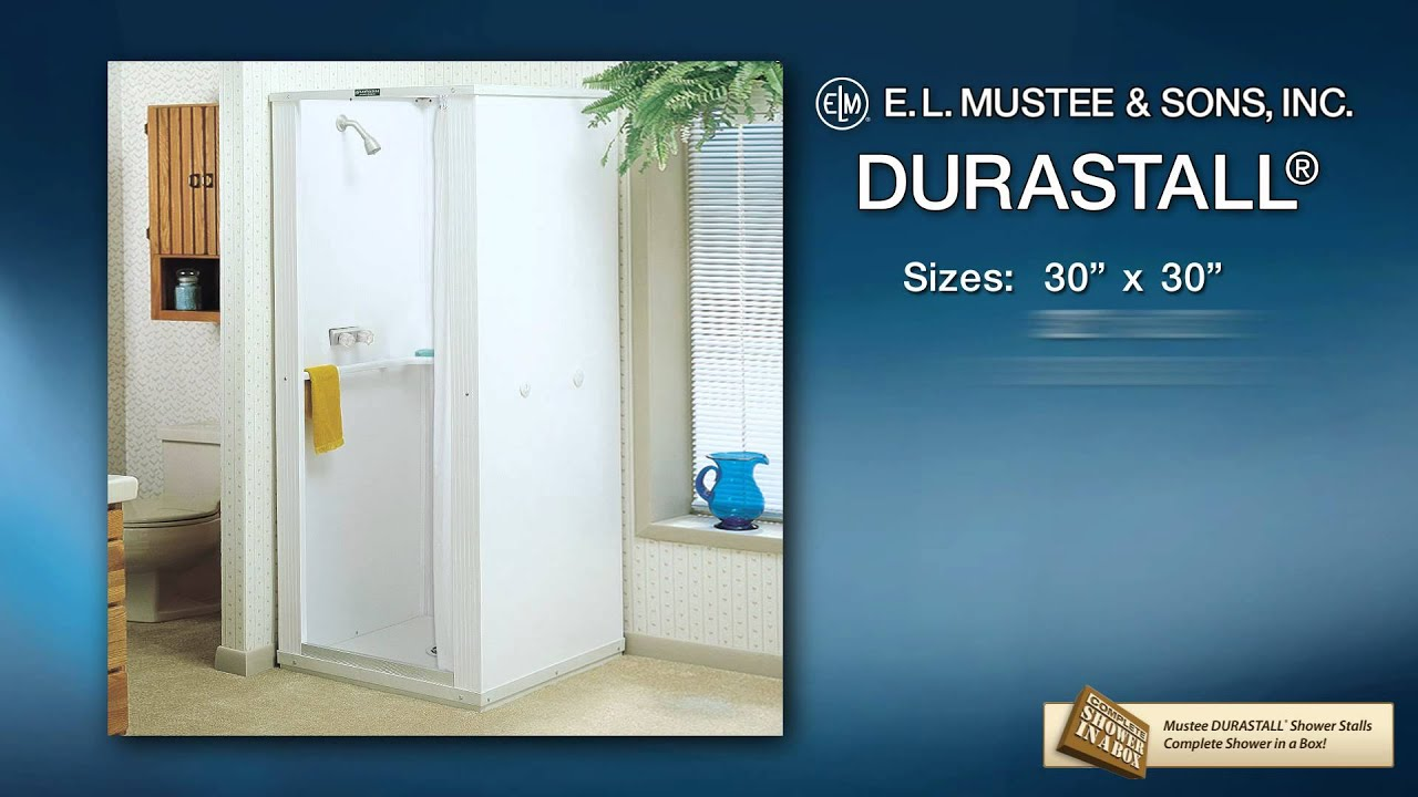 DURASTALL® Shower Stall Product Knowledge Video - YouTube