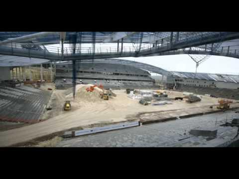 Complete Timelapse - AMEX Brighton and Hove Albion Stadium