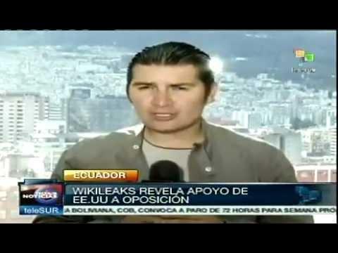 Guillermo Lasso Conspirador Permanente contra Rafael Correa