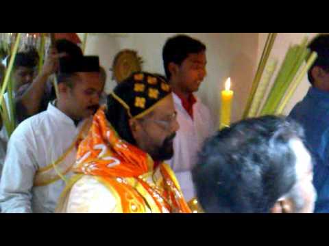 Palm Sunday Service 2010  St. Peters JSSC Thiruvananthapuram- HG Mor Ivanios Mathews