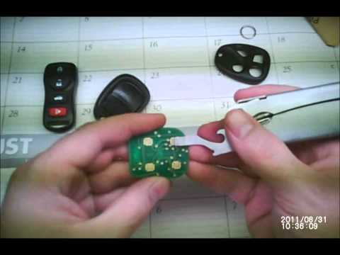 HOW TO - Change the battery and quick fix your car remote / keyless entry / fob / transmitter