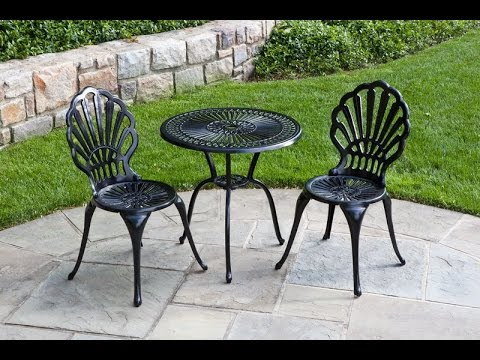Metal outdoor furniture metal outdoor furniture youtube for Steel outdoor furniture