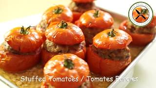 Tomates Farcies / French Stuffed Tomatoes – Bruno Albouze – The Real Deal