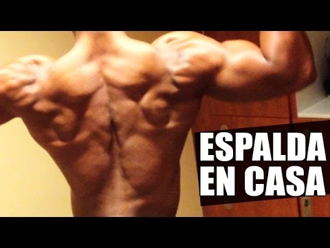 ejercicios musculatura espalda casa