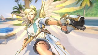 Mercy - Winged Victory - Overwatch 2017 Summer Skin Spotlight