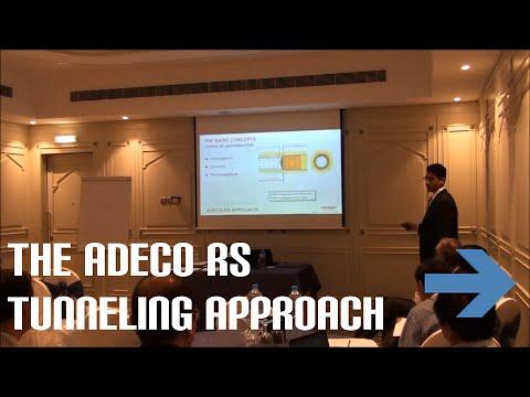 The ADECO RS Tunneling Approach | Sohaib Nadeem | Bridges & Highways Oman 2015