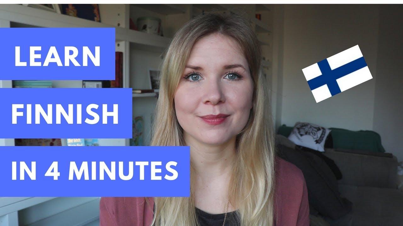 how to speak finnish