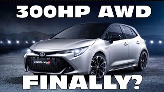 """homepage tile video photo for Let's Talk About The """"300HP"""" GR Corolla"""