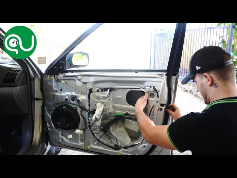 How to Remove and Replace Toyota Camry Door Lock Mechanism Actuator