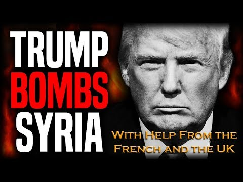 United States, UK and France bomb Syria in response to Douma Chemical weapon attack