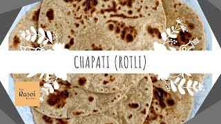 Chapati (Rotli) | The Rasoi Recipes