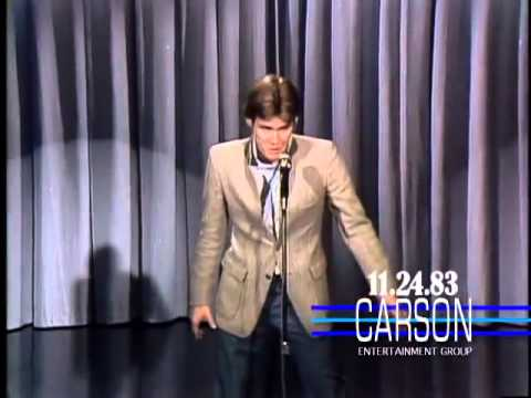 Jim Carrey's Elvis Presley Impression. First US TV Appearance on Johnny Carson's Tonight . 1983
