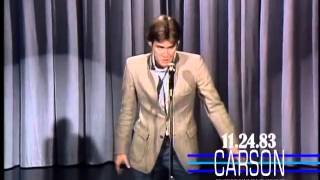 Jim Carrey's Elvis Presley Impression. First US TV Appearance on Johnny Carson's Tonight Show. 1983