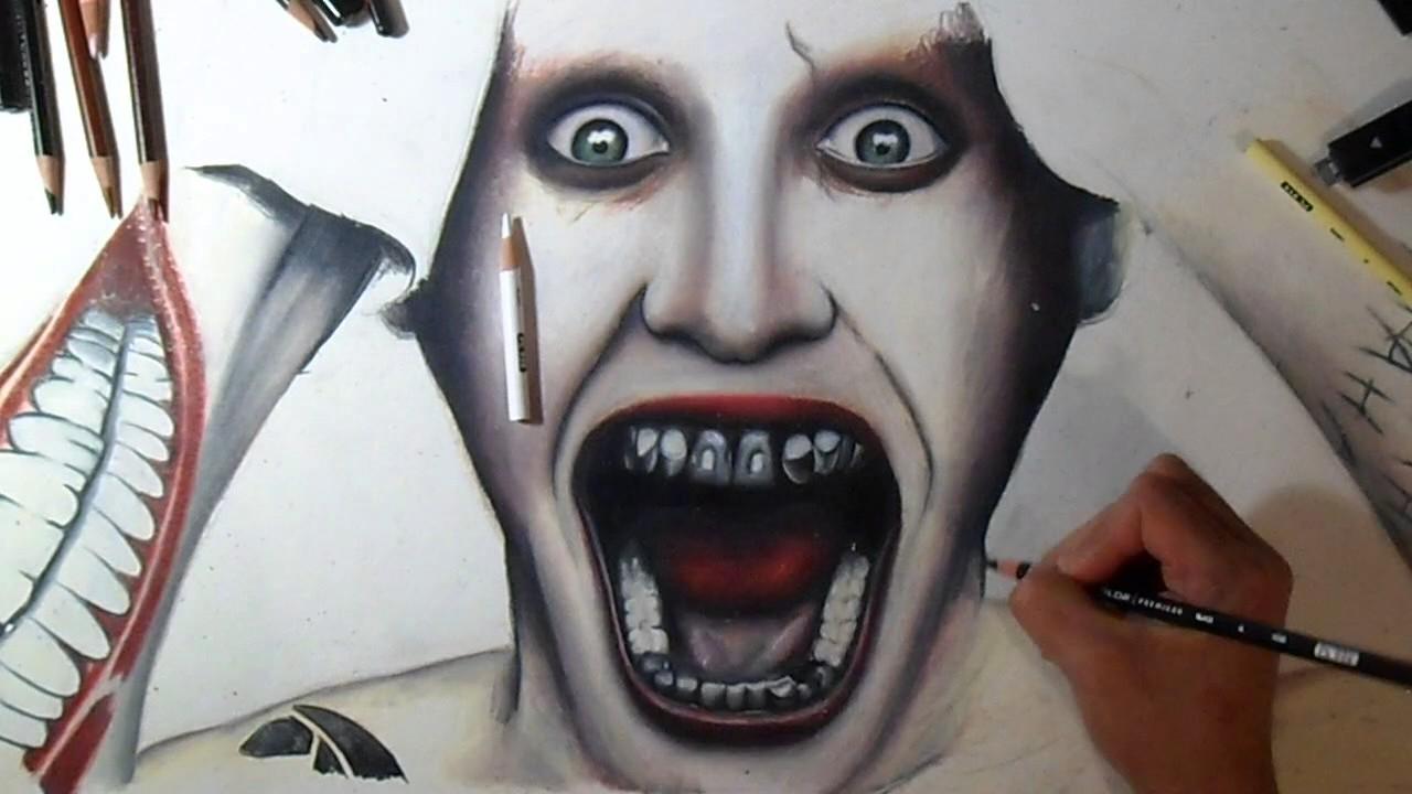 Dessin Joker Suicide Squad Youtube