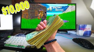 I TROLLED my BROTHER for his BIRTHDAY on Fortnite