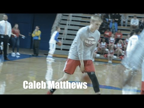 Class of 2018 Guard Caleb Matthews Playoff Highlights - State Champion!