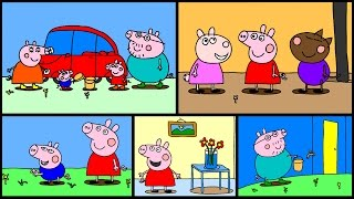 Peppa Pig Coloring Pages Part 6 - Peppa Pig Coloring Games