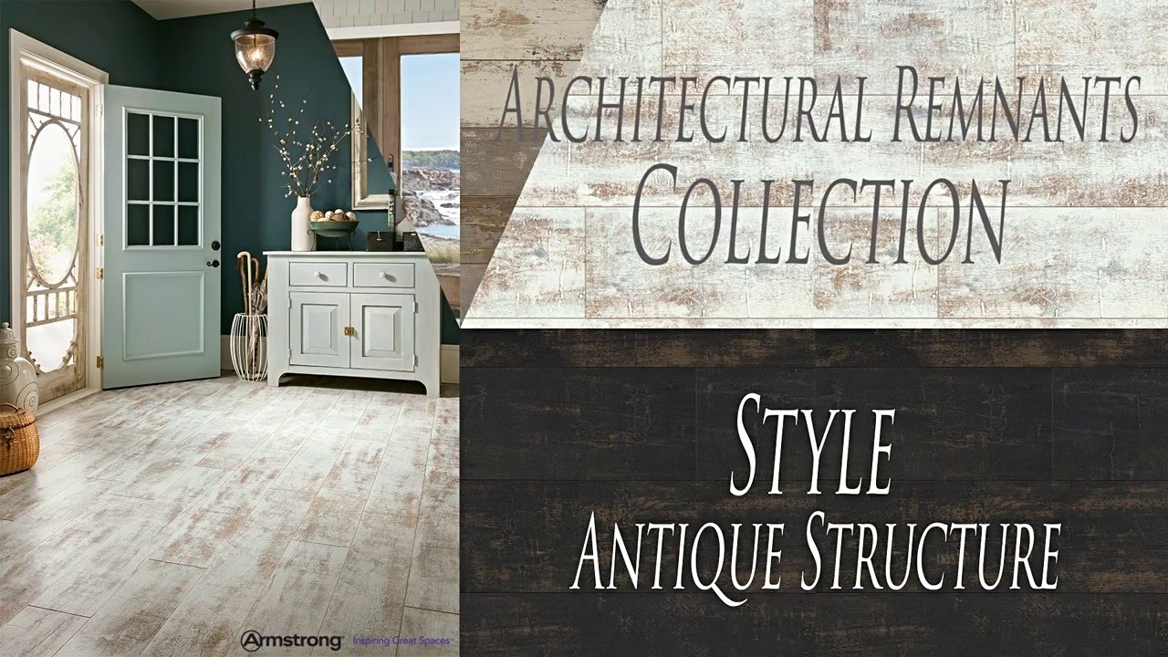 New Laminate Reclaimed Wood Looks From Armstrong Floors