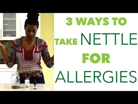 3 WAYS TO TAKE NETTLE FOR ALLERGIES | VIAHERBS