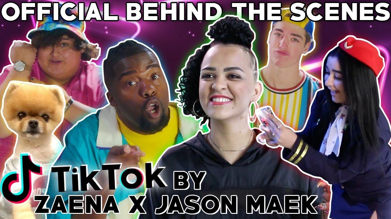 Zaena x Jason Maek - TIkTok (Official Behind The Scenes)