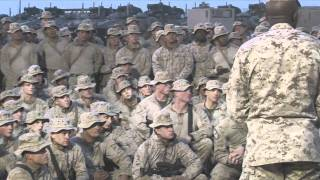 3rd Light Armored Reconnaissance Marines visited by Commandant and Sgt. Maj. of the Marine Corps