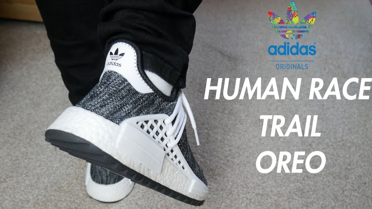 new style ecc41 15363 ADIDAS x PHARRELL NMD HUMAN RACE TRAIL OREO REVIEW