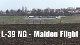 L-39 NG - Maiden Flight, Vodochody Airport