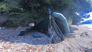 Packraft Fishing You can feel like you are fishing and camping