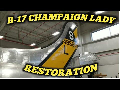 B-17 Champaign Lady Restoration Tour