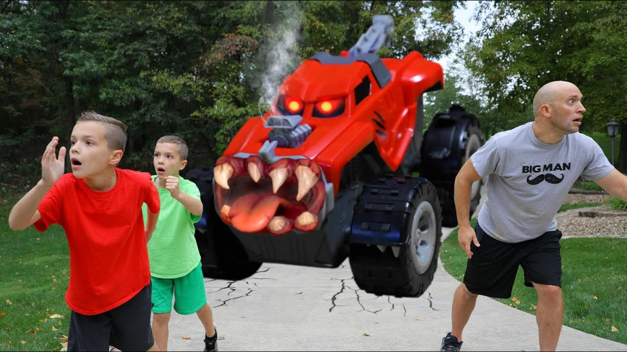 Payback Time Attacked by Animal from Toy Machine! Halloween Horror!