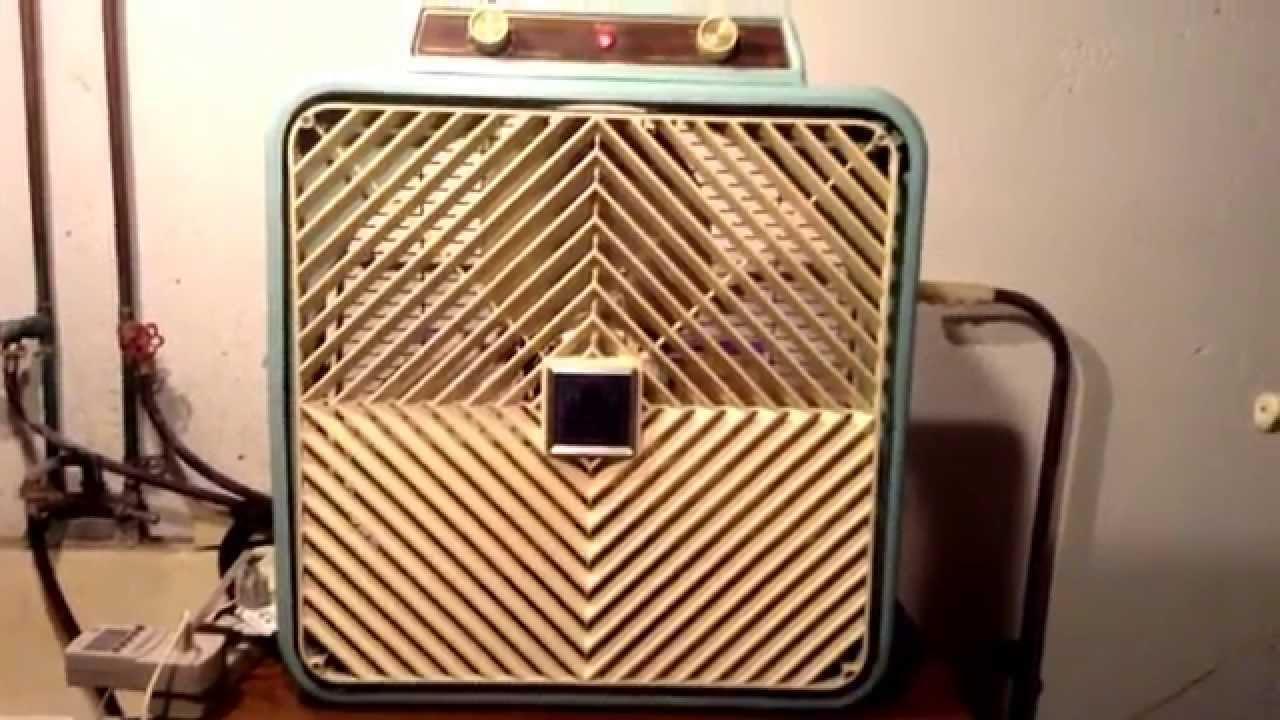 1960s Box Fan : S windsor quot deluxe box fan model wg youtube