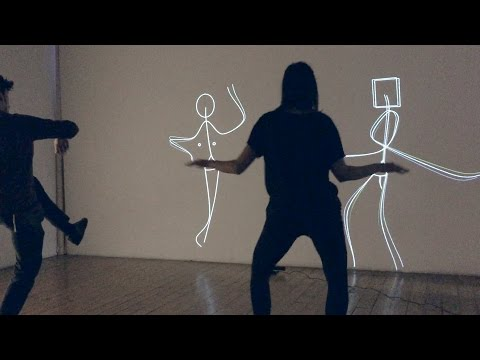 This Art Installation Turns You Into A Dancing Stick Figure