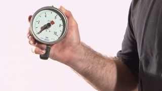 WIKA - La lectura correcta de un manómetro y termómetro