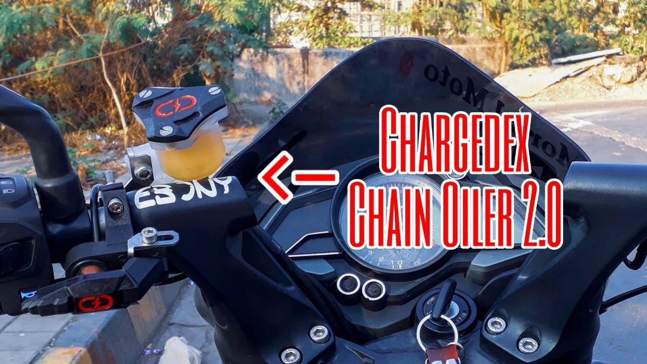 Automatic chain oiling solution | Chargedex Chain Oiler