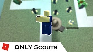 How far can You go with ONLY The Scout? | Tower battles [ROBLOX]