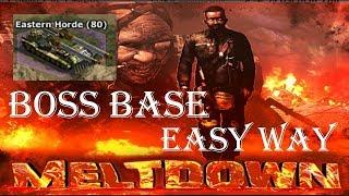 War Commander: Meltdown Boss Base(80) Easy Way | 21 Sep 2018