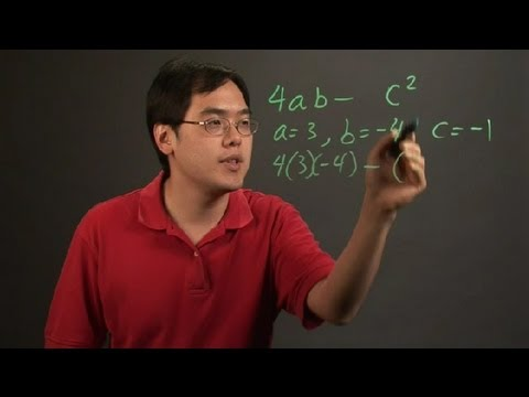 Evaluation of Algebraic Expressions Through Substitution : Probability & More in Mathematics