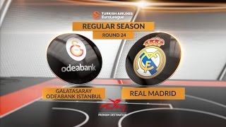 Highlights: Galatasaray Odeabank Istanbul-Real Madrid