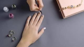 Видеоурок красоты׃ ногти в стиле колор блокинг