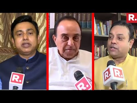 Dr.Subramanian Swamy, Sambit Patra And Zafar Islam React On #HinduPakistanComment