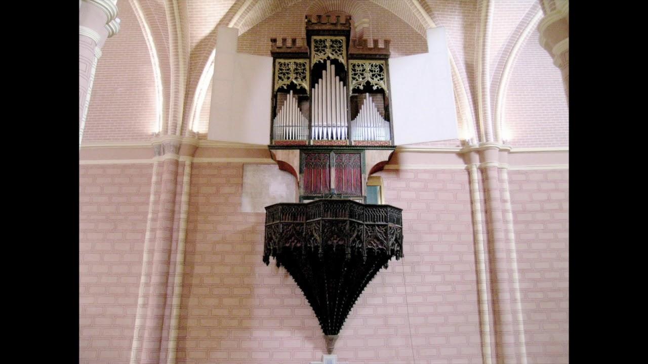 Koos van der Linde 2005, Orgel San Pedro, Calatayud, Prov. Zaragoza ...