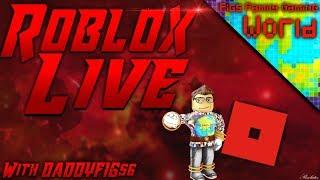 Roblox mercredis! #50 de diffusion en direct Roblox - France Jouer avec les téléspectateurs!