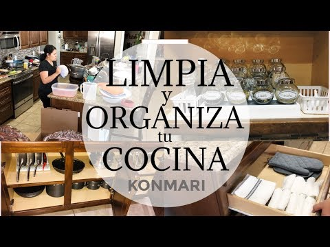 Ideas para organizar tu cocina. Marie Kondo metodo.